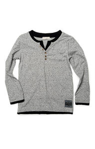 APPAMAN Boys Grey Camden Long Sleeve