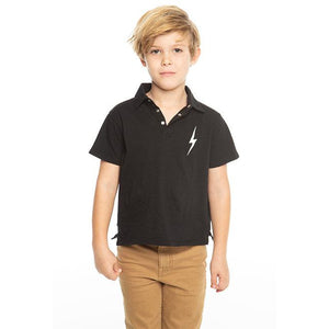 CHASER Boys' Short Sleeve Cotton Polo