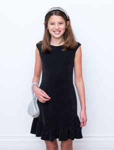 DAVID CHARLES Girls Sleeveless Dress