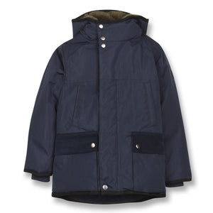 FINGER IN THE NOSE Boys Blue Parka