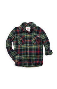 APPAMAN Boys Ivy Plaid Flannel Shirt
