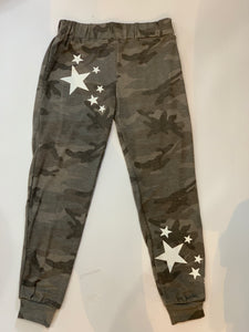 VINTAGE HAVANA Camo Sweatpants with Stars