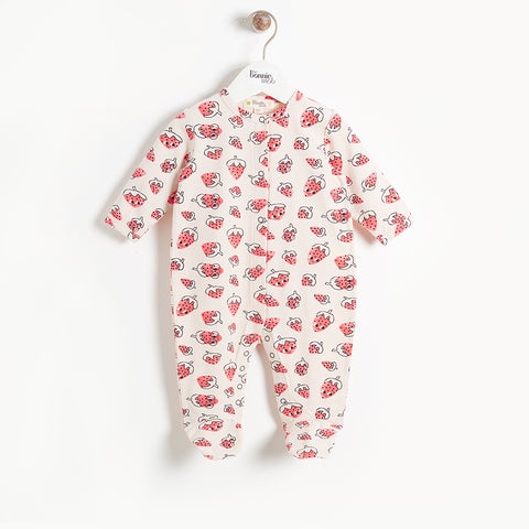 BONNIEMOB Strawberry Playsuit