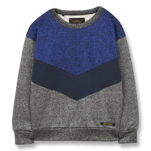 FINGER IN THE NOSE Boys Colorblock Sweater
