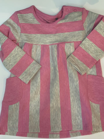 BELLY BUTTON Baby Girls Striped Dress