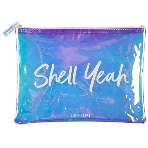 SUNNYLIFE Mermaid Zip Pouch