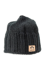 APPAMAN Black Knit Hat