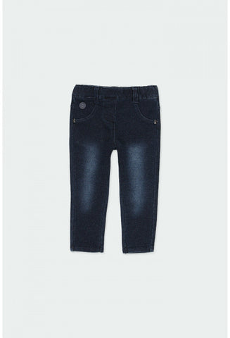 Boboli - Denim Dark Blue Jeggings