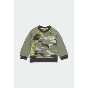 Boboli - Camo Fleece Sweatshirt