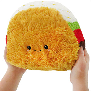 SQUISHABLE Mini Taco Pillow
