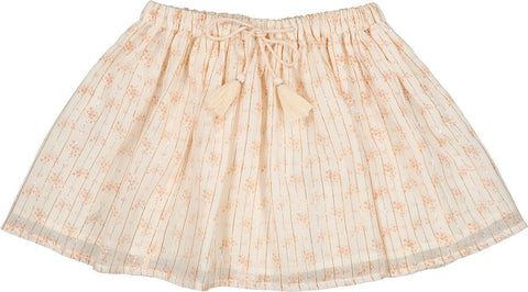 LOUIS LOUISE PINK FLORAL FLARE SKIRT