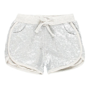 Boboli Sequin Knit Shorts