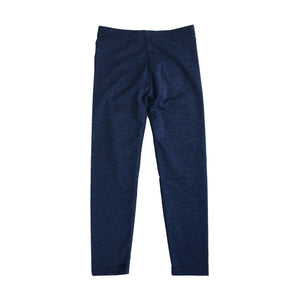 Dori Creations - Navy/Black Heathered Leggings - JUNIOR