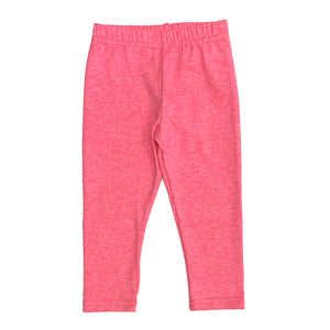 Dori Creations - Heathered Neon Pink Leggings