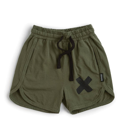 Nununu - Light Gym Shorts - Olive
