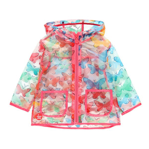 Boboli Butterfly Raincoat