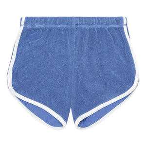 Hundred Pieces - Organic Terry Cloth Shorts Blue