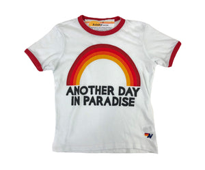 AVIATOR NATION Paradise Ringer Tee