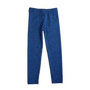 Dori Creations - Heathered Royal/Black Leggings