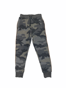 T2Love - Camo Jogger with Gold Piping