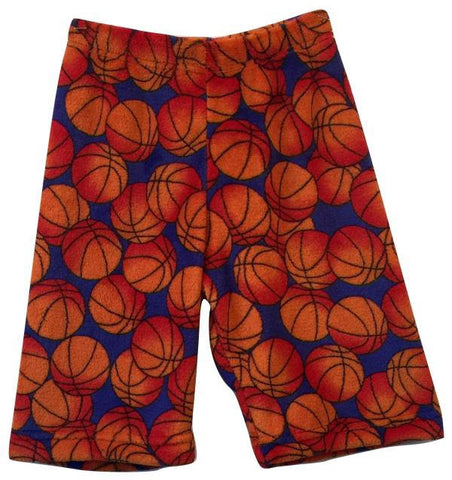 "Fuzzy Blue ""Basketballs"" Boys Shorts"