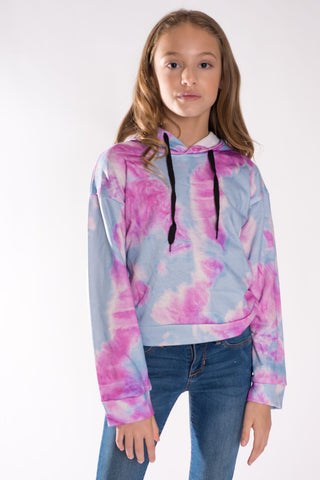 Sparkle by Stoopher Tie Dye Hoodie