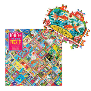 Firecracker Labels 1000 Piece Puzzle