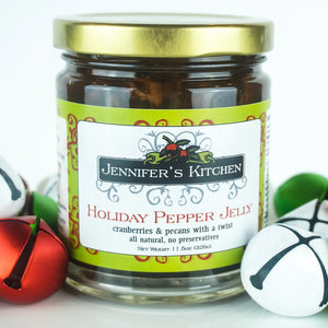 Jennifer's Kitchen Holiday Pepper Jelly