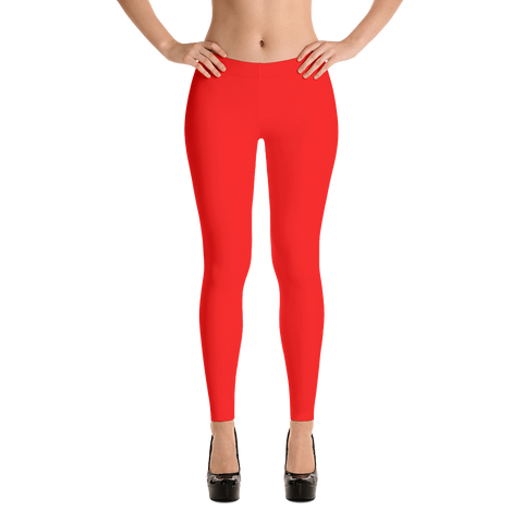 Fire Red Leggings