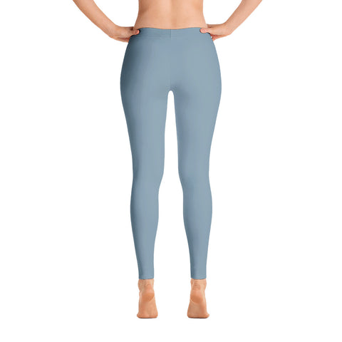 Winter Blue, Spandex and Polyester, Leggings