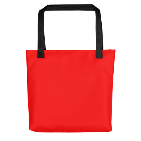 Fire Red Tote bag