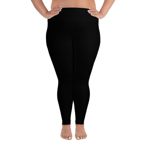 Black Plus Sized Leggings