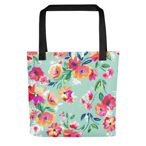 Floral ladies fashionable Tote bag
