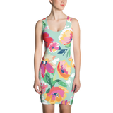 Floral Mini Womens Dress
