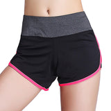 Quick Dry Yoga Women Breathable Athletic Running Shorts