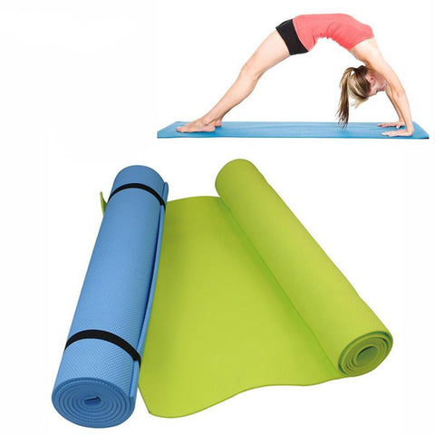 Premium 6mm Thick Comfort Foam Yoga Mat for Exercise, Yoga, and Pilates
