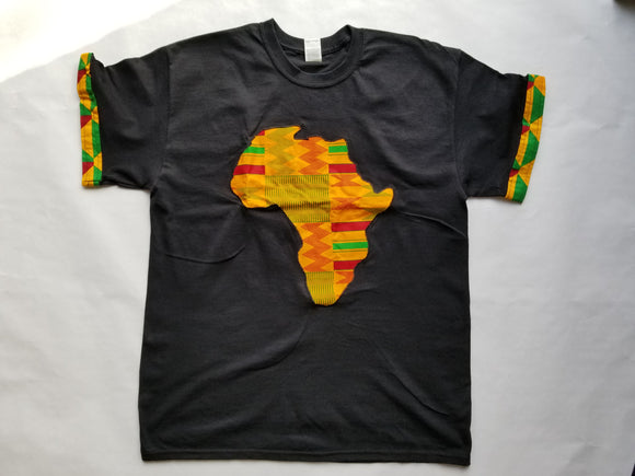 African Kente T-Shirt Lome