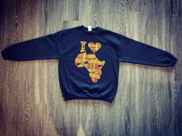 I Love Africa Sweater