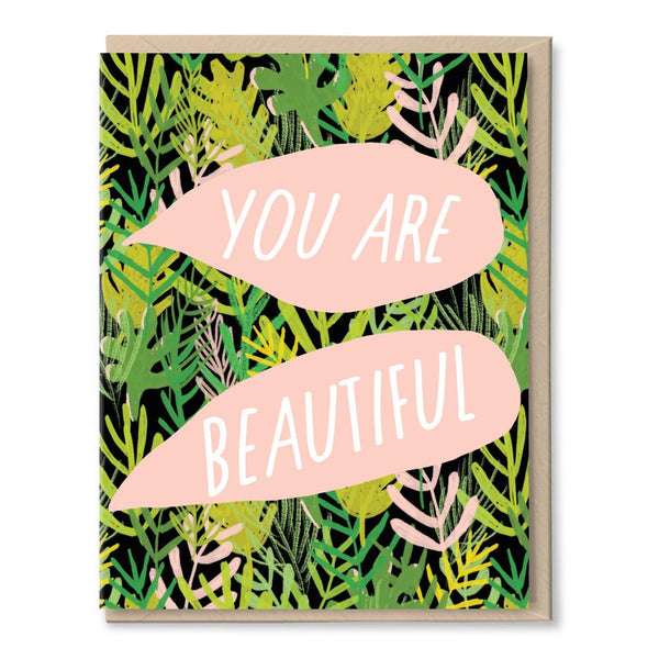 beautiful jungle card