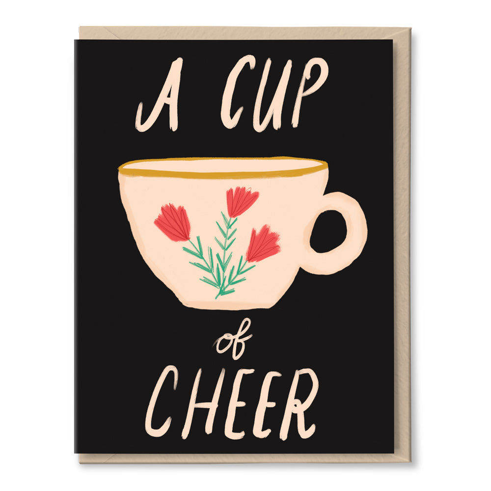 cup of cheer holiday card by tigerpocket press