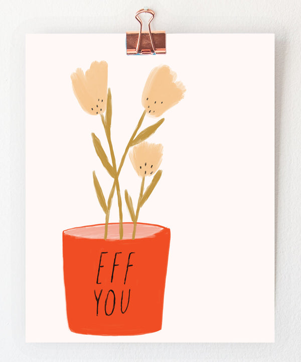 plant art print by tigerpocket press