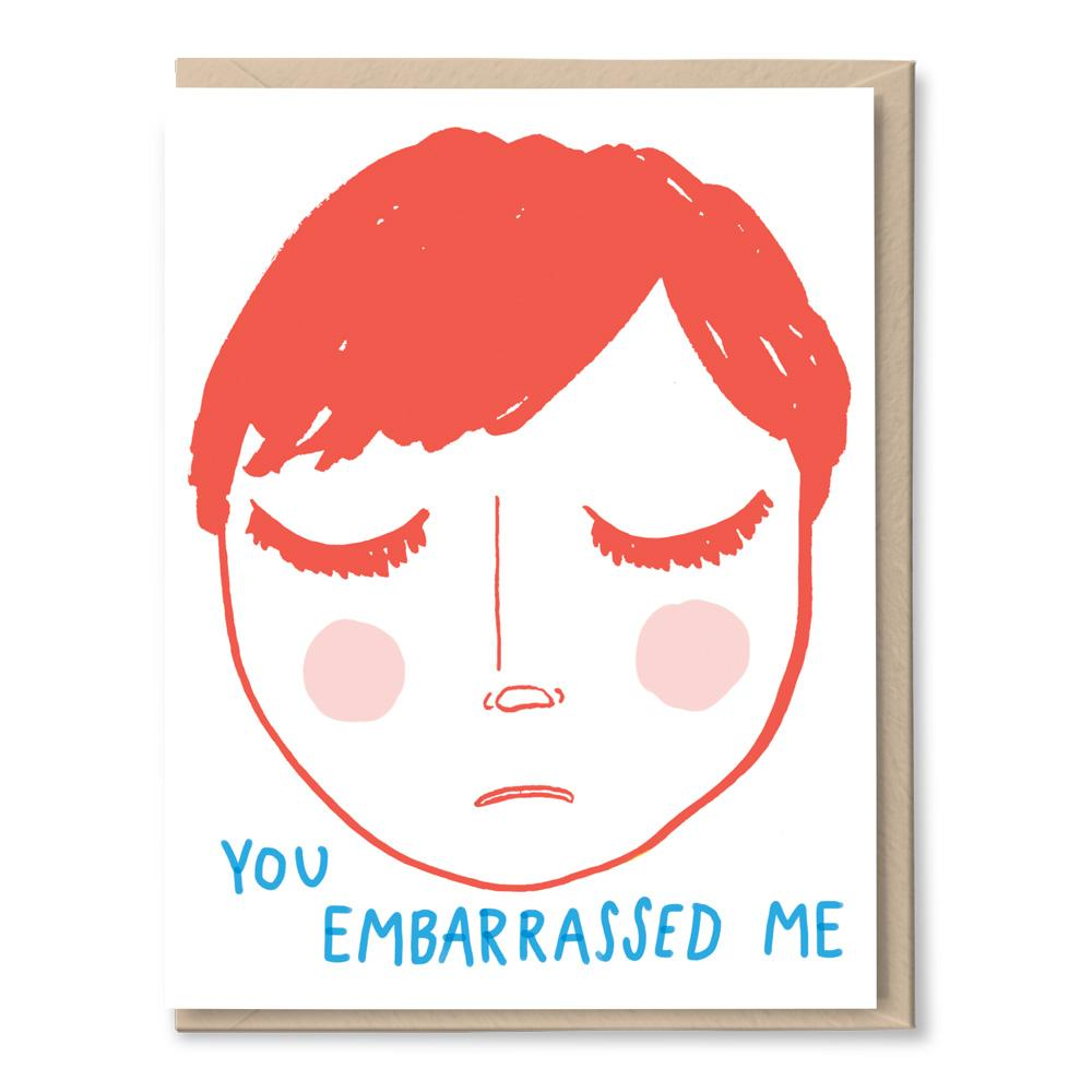 embarrassed forgiveness card