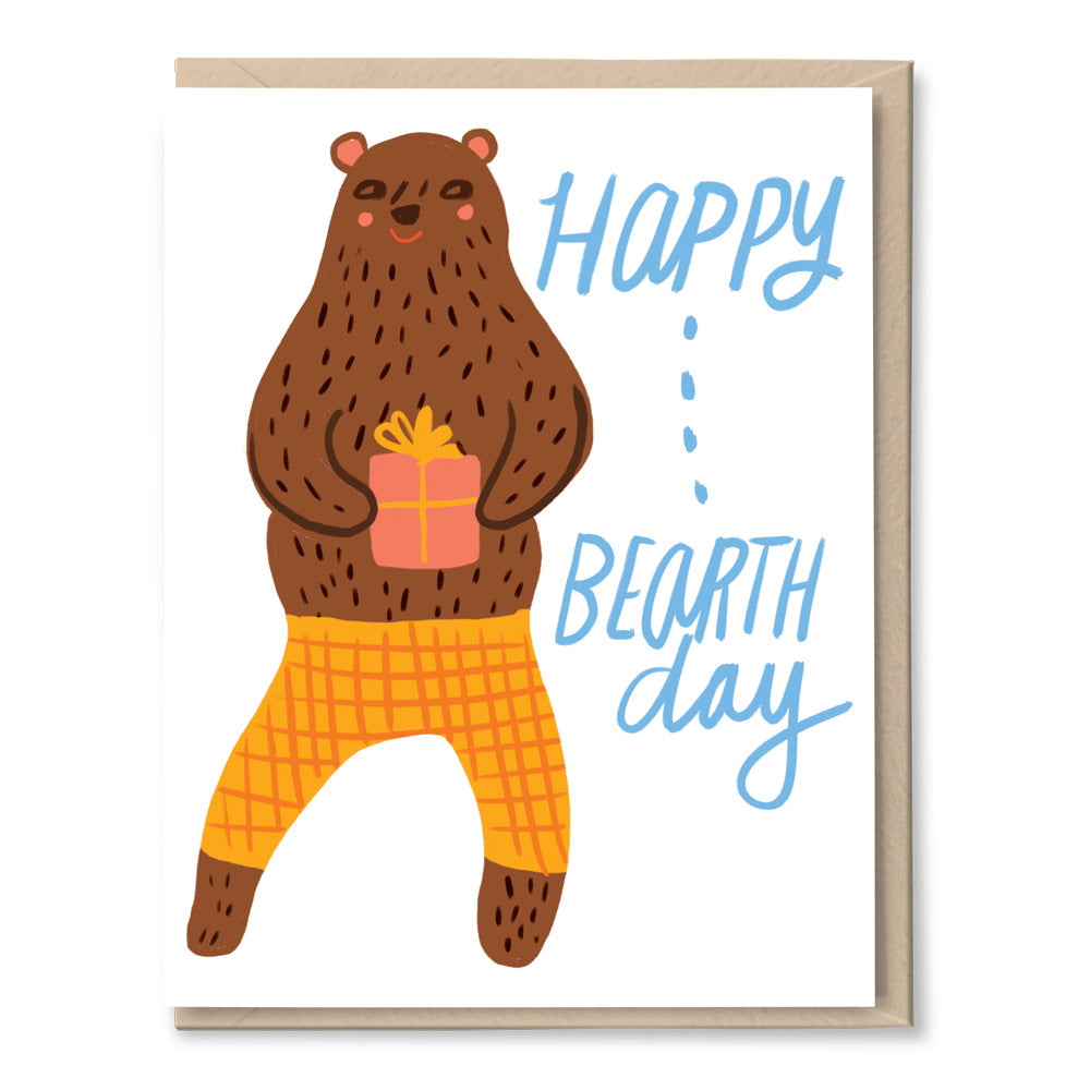 happy bearthday card