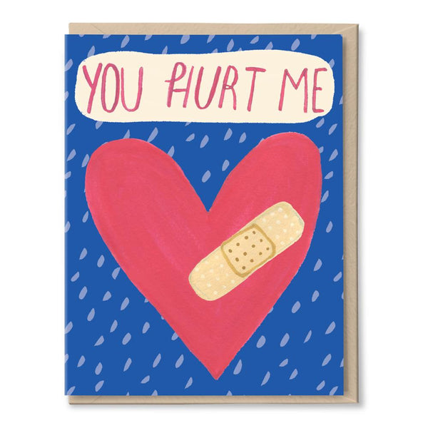 hurt me forgiveness card