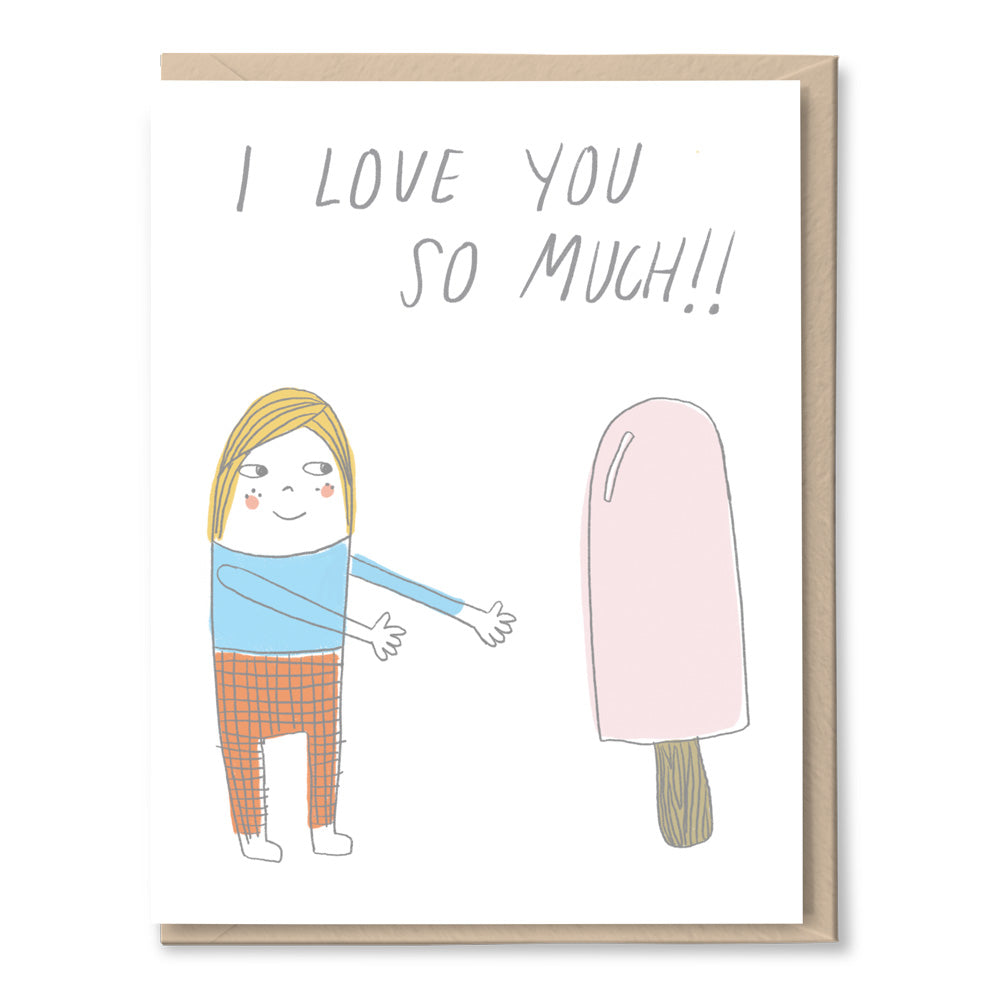 popsicle love card