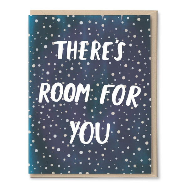 room in space card