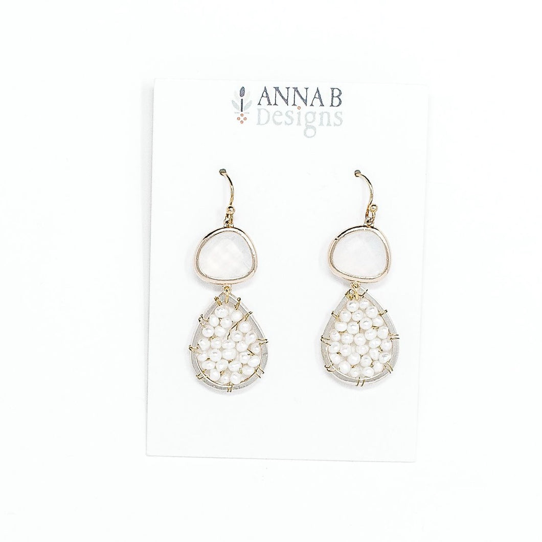 Marie Drop Earrings