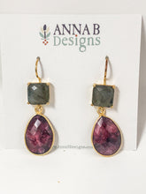 Avery Bezel Earrings