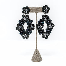 Deedee Beaded Earrings | Black
