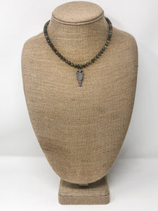 Henley Hematite Necklace